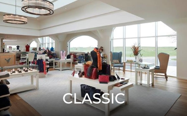 Millerbrown classic Golf shop designs