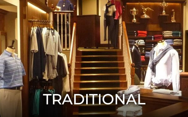 Millerbrown traditional Golf shop designs