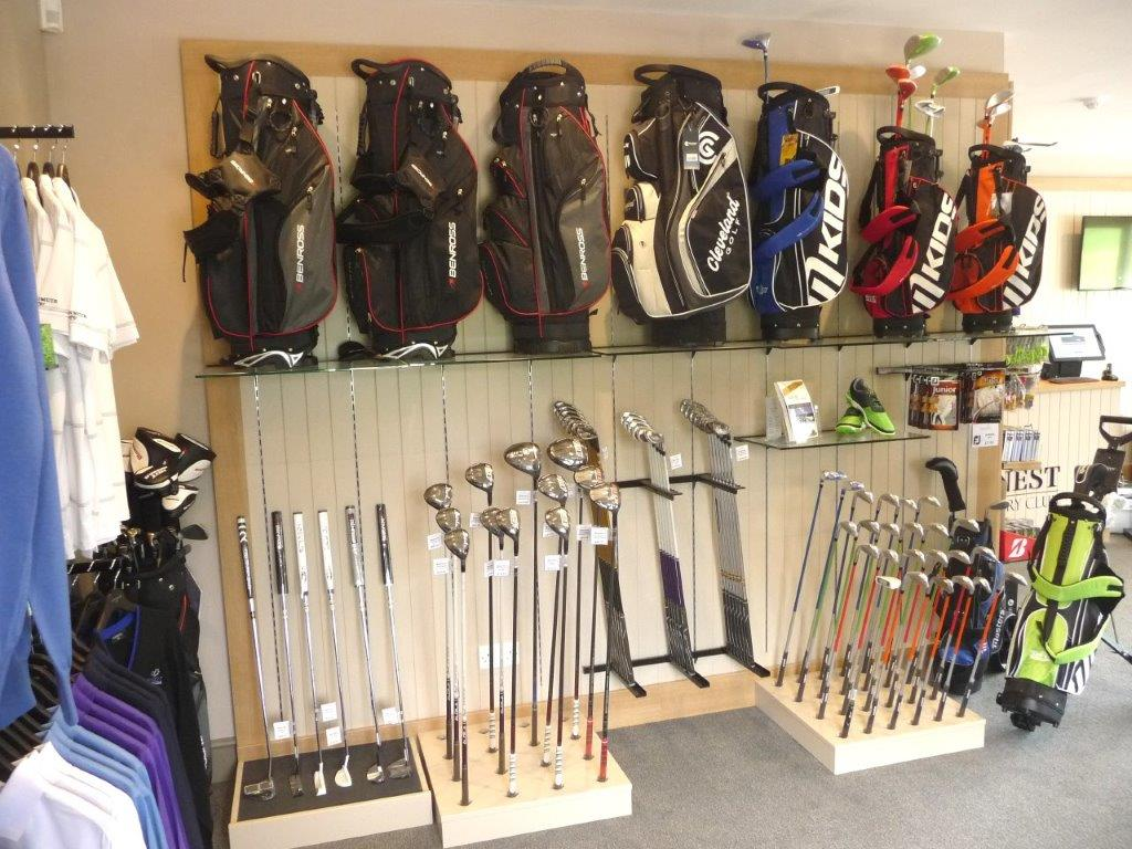 Classic shopfitting at Blacknest Golf Club by Millerbrown Golf