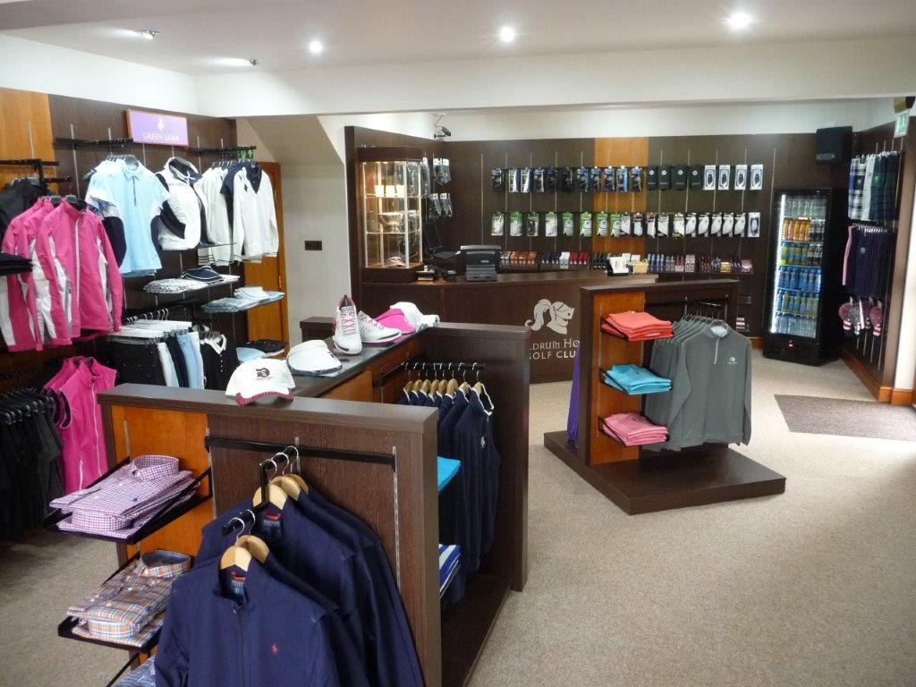 Traditional Golf Shopfitting by Millerbrown Golf at Meldrum Golf Course