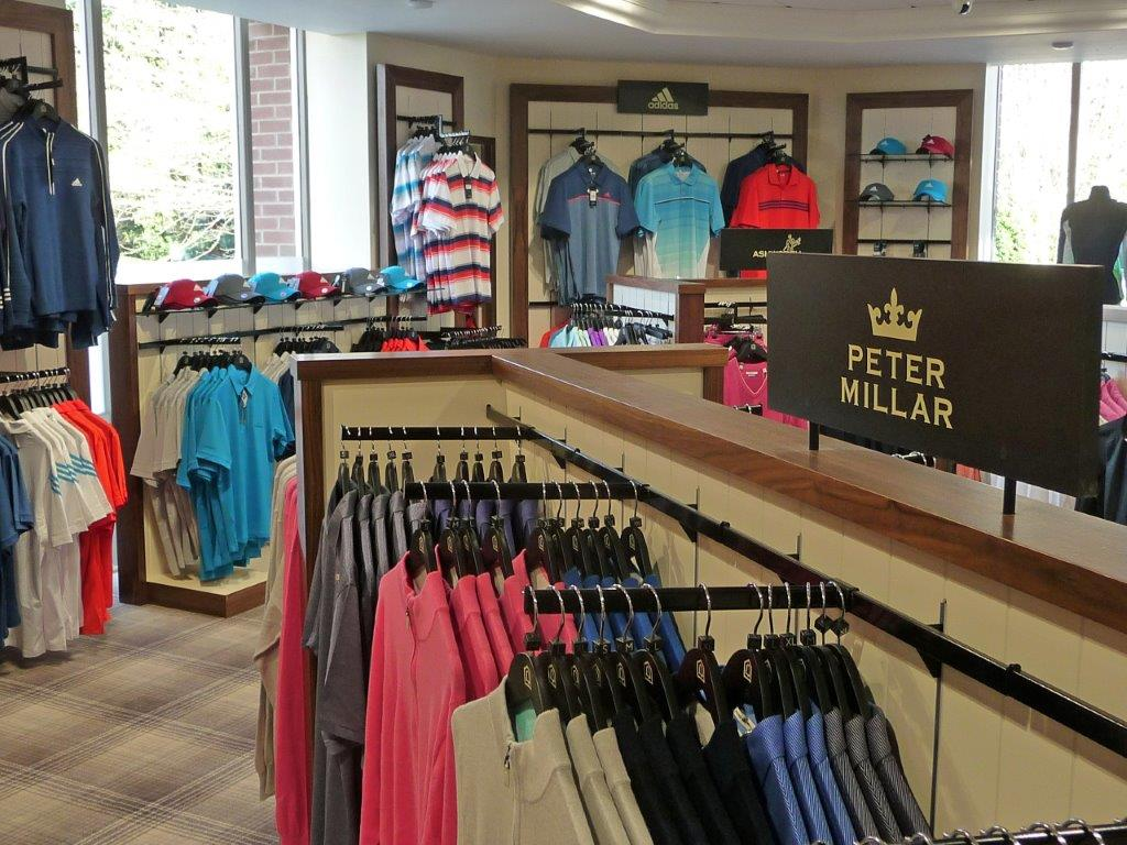 Classic shopfitting at The Belfry in Staffordshire, England
