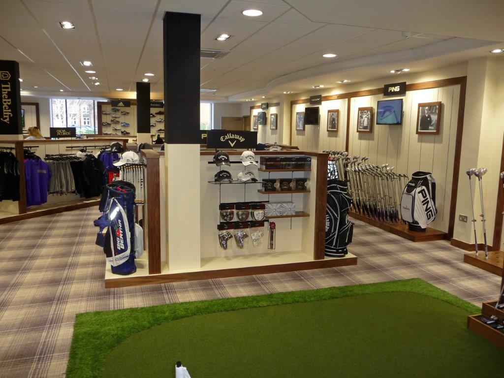 Classic Shopfitting by Millerbrown Golf at The Belfry Golf Club