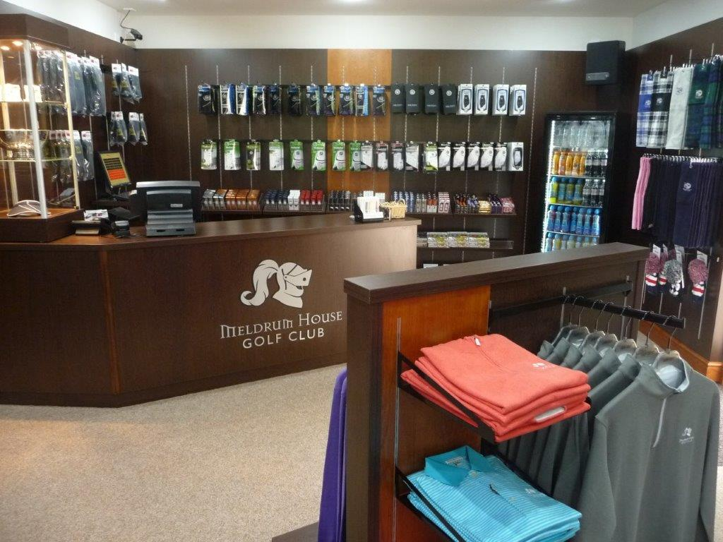 Meldrum House pro-shop by Millerbrown