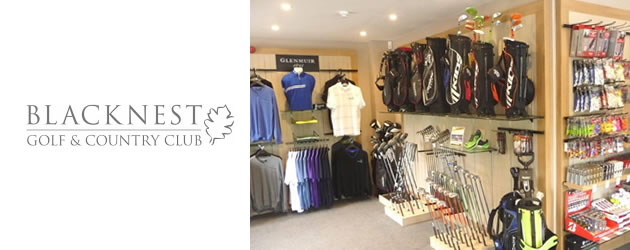 Classic Shopfitting from Millerbrown at Blacknest Golf & Country Club