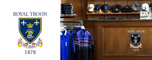 Royal Troon traditional golf shop