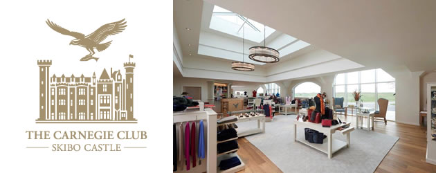 Classic Shopfitting from Millerbrown at The Carnegie Club, Skibo Castle