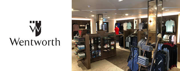 Wentworth Golf - Classic Shopfitting from Miller Brown