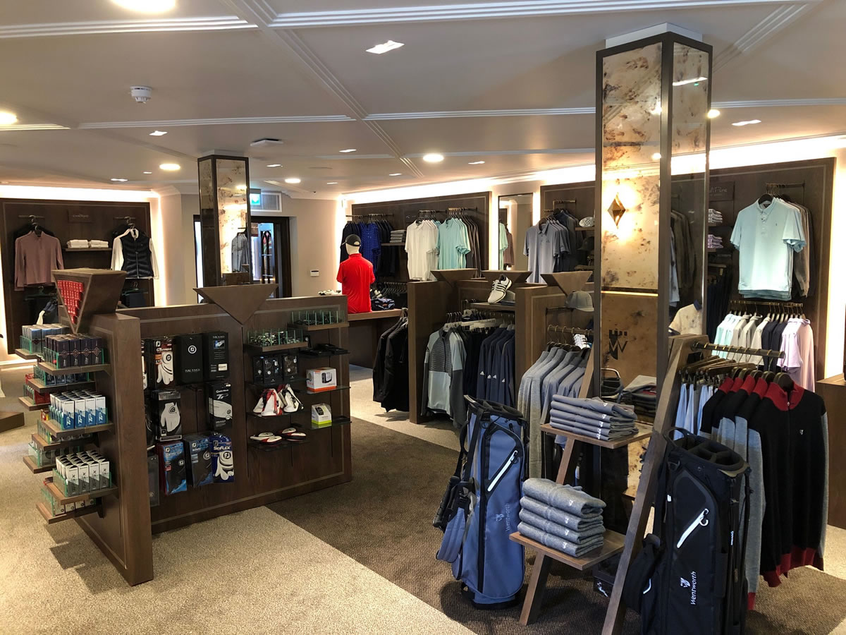Wentworth Golf - Classic Shopfitting in Surrey by Miller Brown